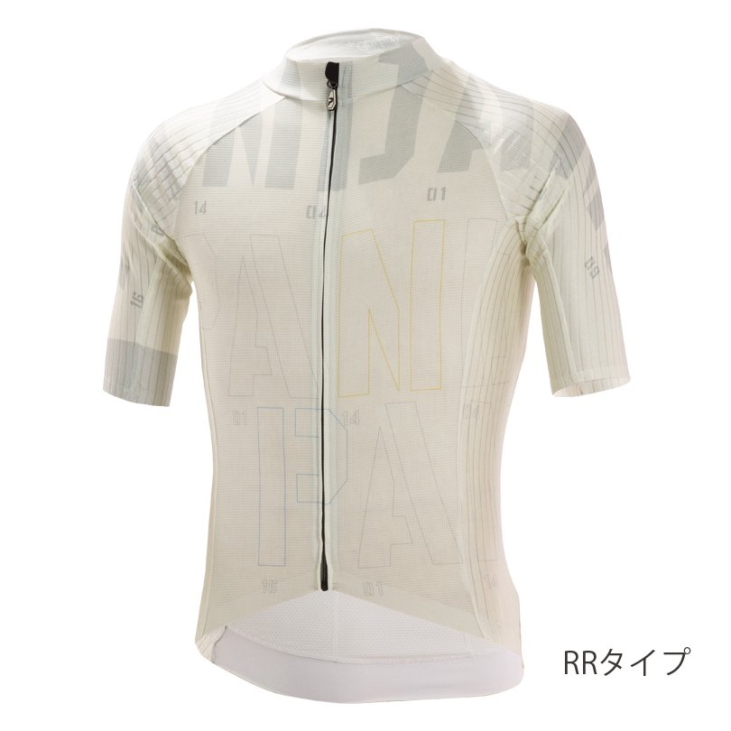 STELVIO RR半袖ジャージ/Grayish White