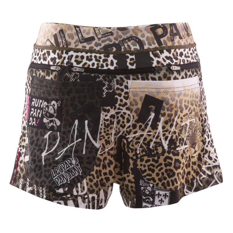 『豹100%』 7 Pockets レディースジョギングパンツ/ブラック