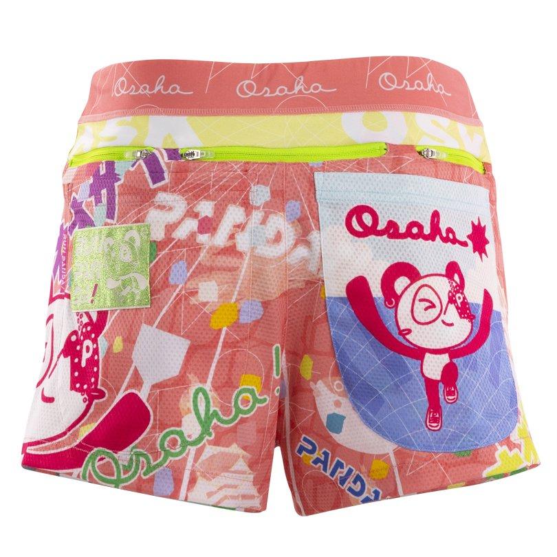 オオサカ!! レディースジョギングパンツ/ピンク◆残りSサイズのみ◆