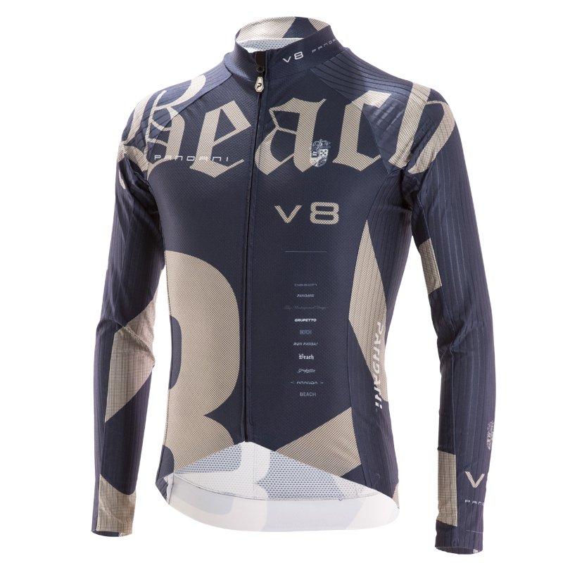 Beach Ver.8 RR薄長袖ジャージ/ ネイビー
