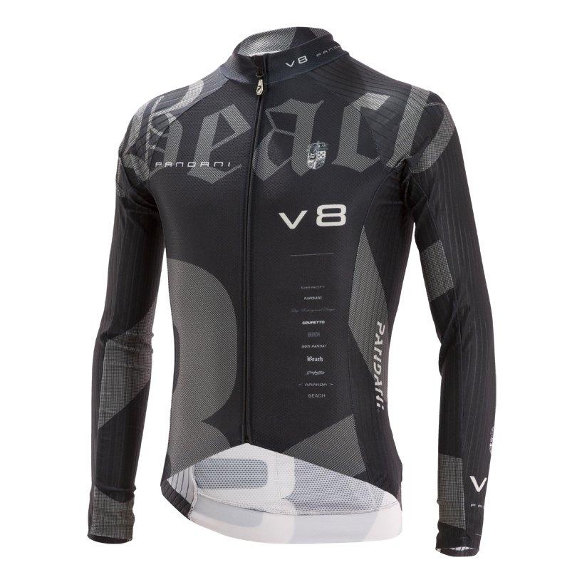 Beach Ver.8 RR薄長袖ジャージ/ ブラック