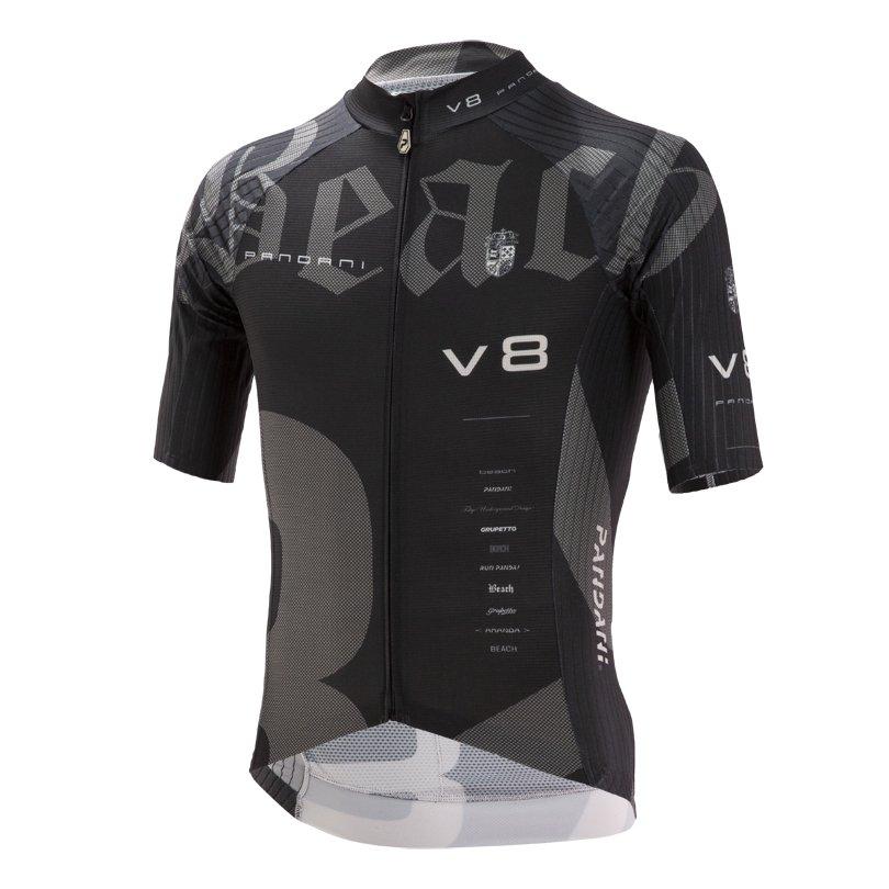 Beach Ver.8 RR半袖ジャージ/ブラック