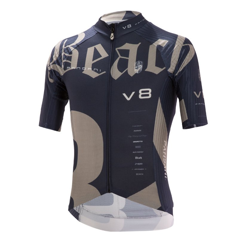 Beach Ver.8 RR半袖ジャージ/ネイビー