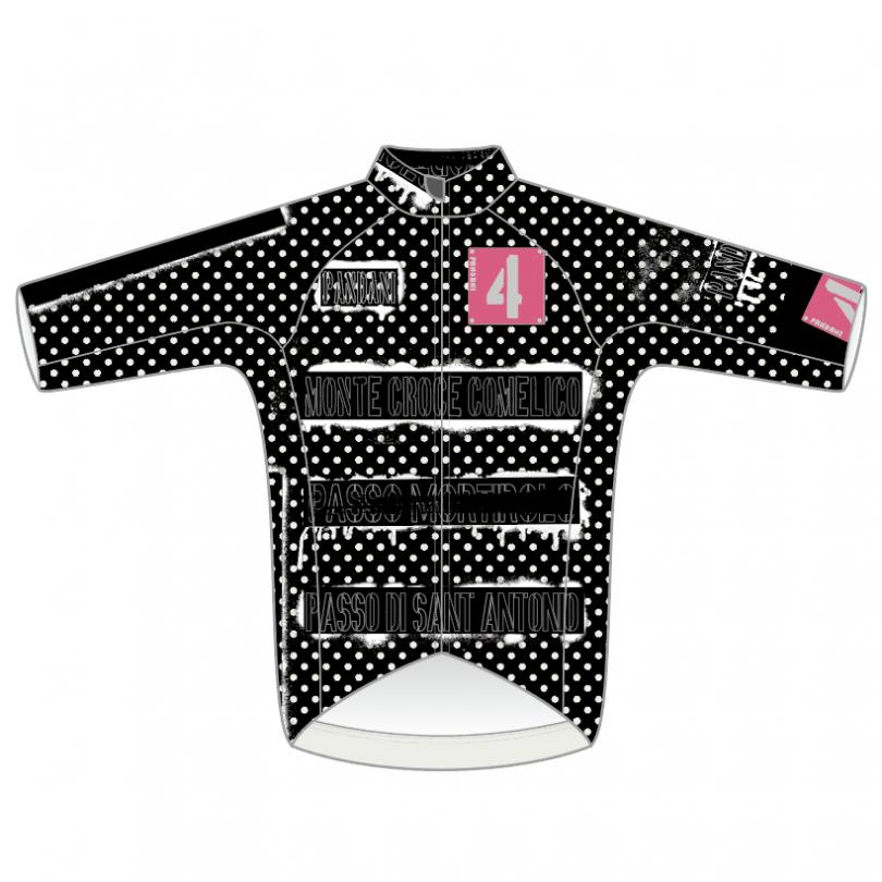 SPRAY-punkish RR半袖ジャージ/ブラック【3月下旬入荷予定※最短の場合】