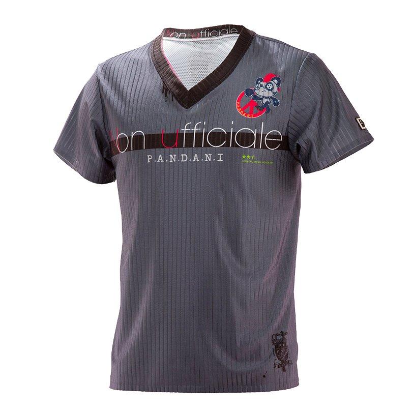 Non ufficiale T.T UNISEX Tシャツ/グレー<br>【一部サイズ3月中旬~下旬再入荷予定※最短の場合】