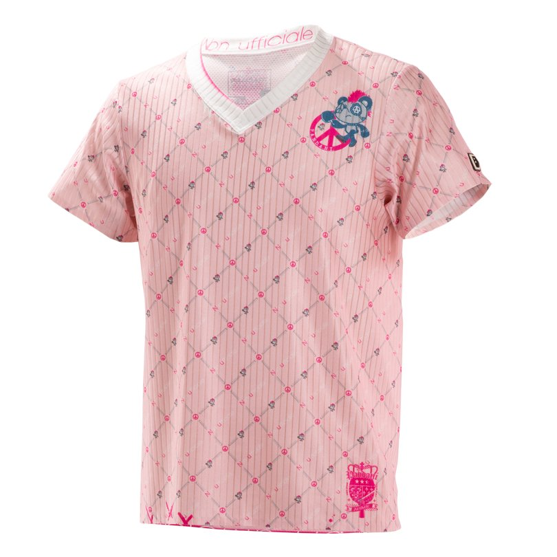 BRISTOL T.T UNISEX Tシャツ/ピンク