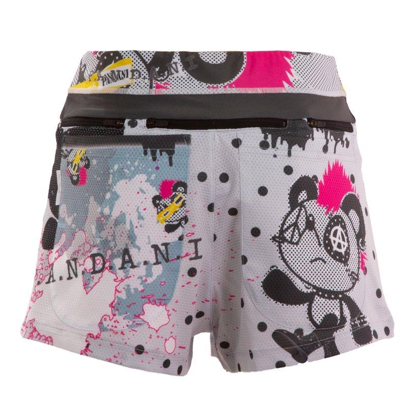 PANKYboy 7 Pockets レディースジョギングパンツ/Dotアイスグレー