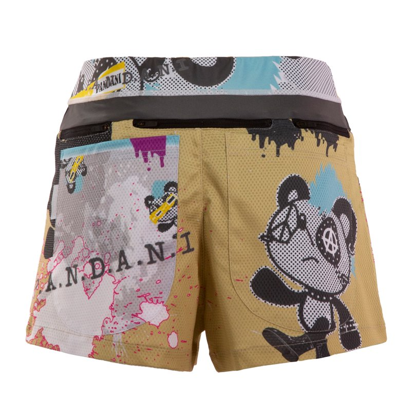 PANKYboy 7 Pockets レディースジョギングパンツ/マスタード