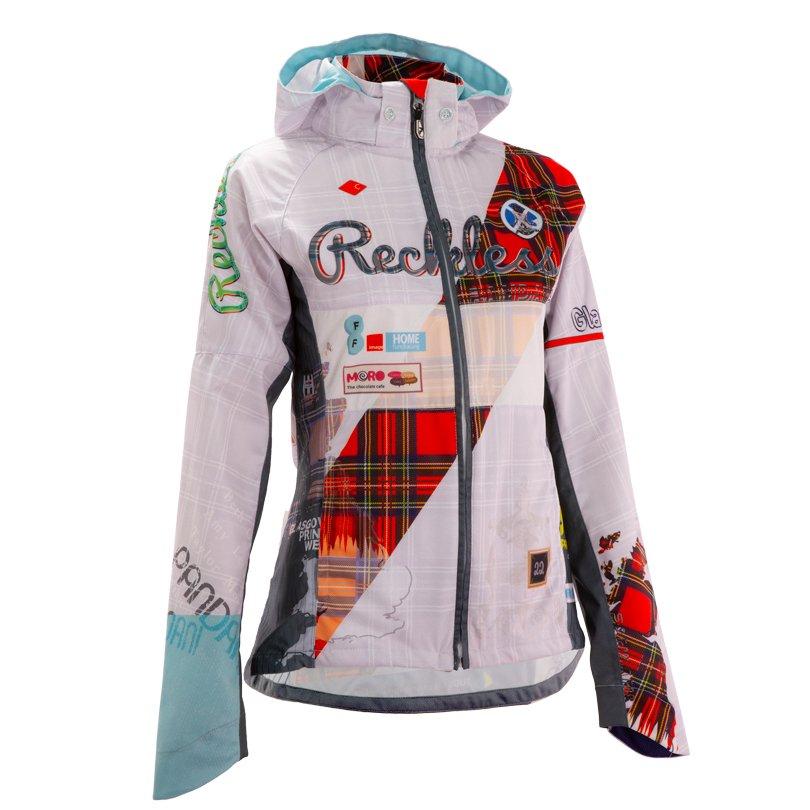 GLASGOW・Reckless レディースフードジャケット/ホワイト