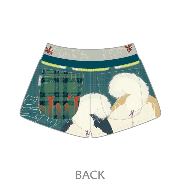 SHIBA! 7 Pockets レディースジョギングパンツ/グリーン【3月上旬~中旬入荷予定※最短の場合】