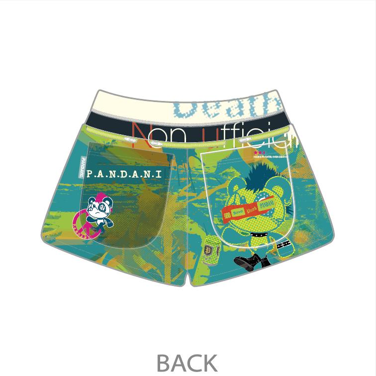 PANKYboy 7Pockets レディースジョギングパンツ/グリーン【3月中旬頃入荷予定※最短の場合】