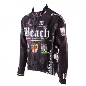 Beach Ver.4 ウインドブレイクジャケット(ブラック)