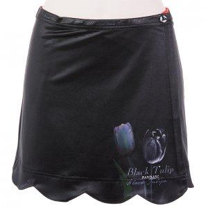 Black Tulip サイクルスカート(ブラック)