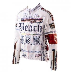 Death Beach ウインドブレイクジャケット(ホワイト)