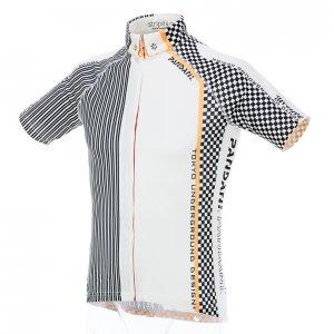 Stripe & Cube 半袖ジャージ(ホワイト)L1