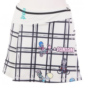 Drop Pandani サイクルスカート(ホワイト)