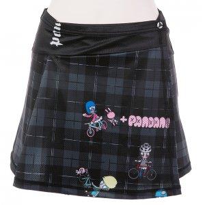 Drop Pandani サイクルスカート(ブラック)