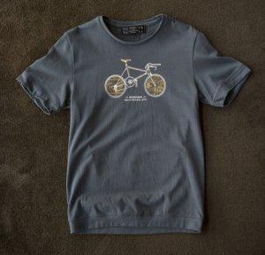 Pandani Bike Tシャツ(ダークグレー)
