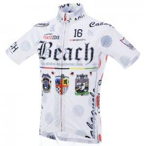 Beach Ver.4/classico 半袖ジャージ(ホワイト)HF