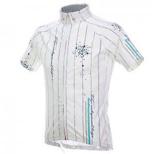 Chalk Stripe 半袖ジャージ(ホワイト)HF