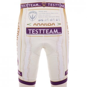 Amanda Test Team ビブパンツ(ホワイト)EVO