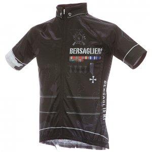 BERSAGLIERI/ベルサリエリ 半袖ジャージ(ブラック)HF