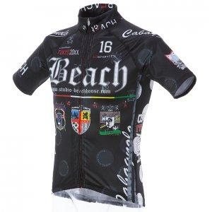 Beach Ver.4/classico 半袖ジャージ(ブラック)HF