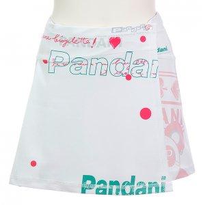 Pandani サイクルスカート(ホワイト)