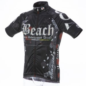 Beach 零式/10周年記念 半袖ジャージ(ブラック)HF