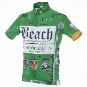 Beach Ver.4/classico 半袖ジャージ(グリーン)HF