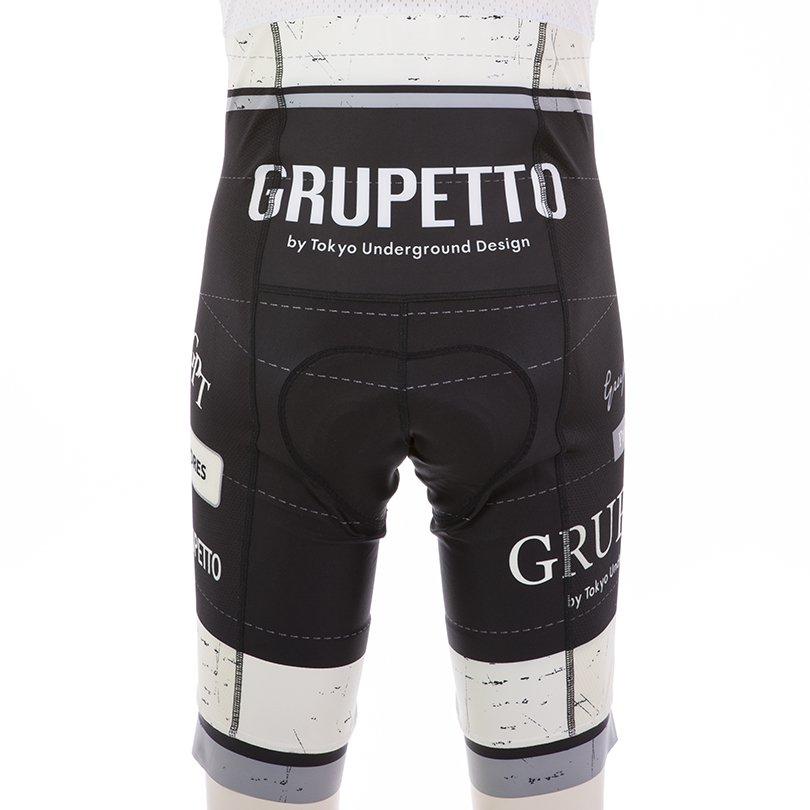 GRUPETTO Ver.4 ビブパンツ(ブラック)EVO