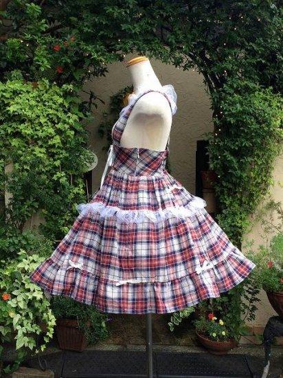 フリルワンピース 夢見るカントリー少女の散歩服