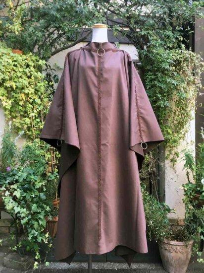 LARP衣装 神官のローブ ブラウン