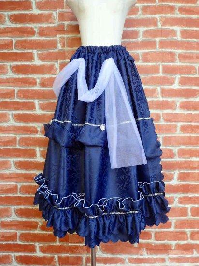フリルスカート 水反射属性付き魔法の巻きスカート 各4色