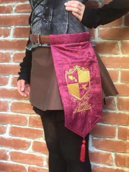 LARP装備 刺繍紋章入り騎士のベルト