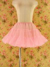 フリルミニパニエ重ねウエストフリータイプdrug&girlstyle ピンクフリーサイズ