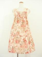 高級フリルエプロンレースジャガード織り薔薇柄