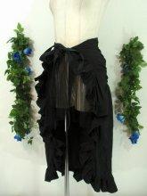 ゴシックフリル巻きスカート