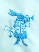 刺繍トランプうさぎモチーフ