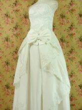 刺繍フリルドレーププリンセスドレス