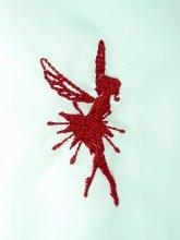 刺繍フェアリーモチーフ