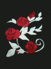 刺繍ゴシックローズ 蔦