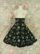 フリルスカート:エリーナ姫の思い出チェックのコルセットスカート