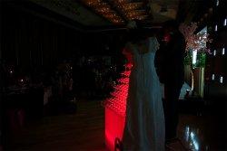 エコノミー光るシャンパンタワー8段レンタル