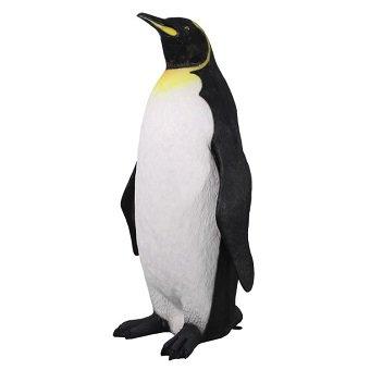 動物オブジェ☆巨大なキングペンギン【183cm】