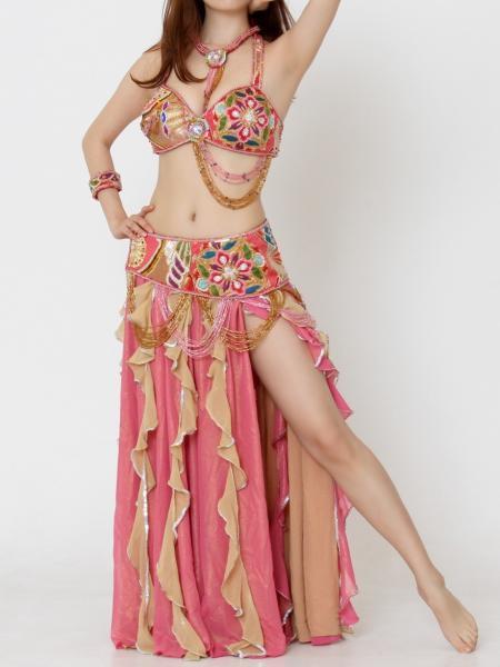 SALE☆1点もの・アンティーク着物ベリーダンス衣装