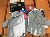 GIRO * Bravo Gel Gloves * Silver