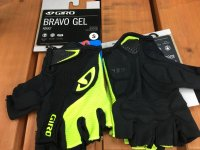 GIRO * Bravo Gel Gloves * H.Yellow