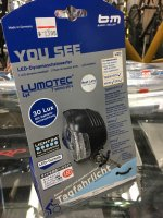 b+m * Lumotec Lyt T Senso Plus * LED light