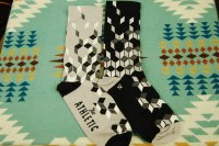 The Athletic * La Cubiste Sock * Black & Grey